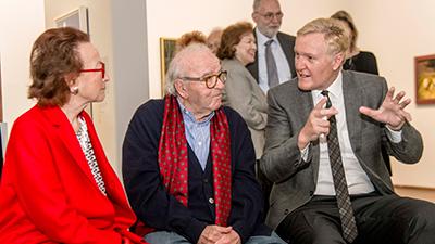 Waltraud Bertoni, Wander Bertoni, Klaus Albrecht Schröder