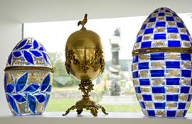 Kunstvolle Eier im Eiermuseum Wander Bertoni