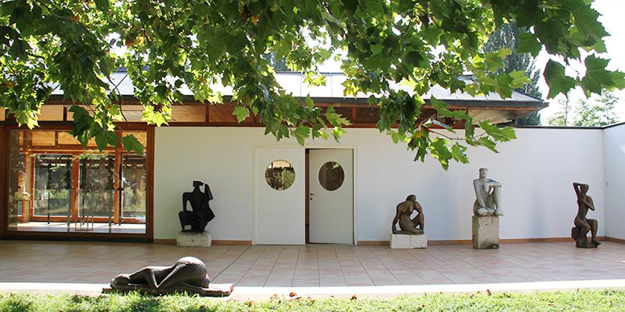 Wander Bertoni Außenansicht Ausstellungspavillon