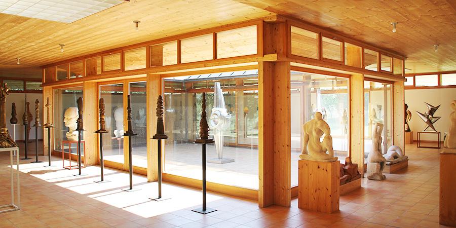 Ausstellungspavillon Wander Bertoni Ansicht 3