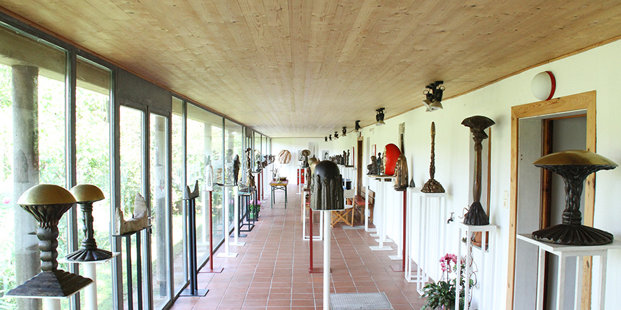 Wander Bertoni Galerie Innenansicht