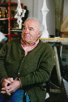 Wander Bertoni im Atelier