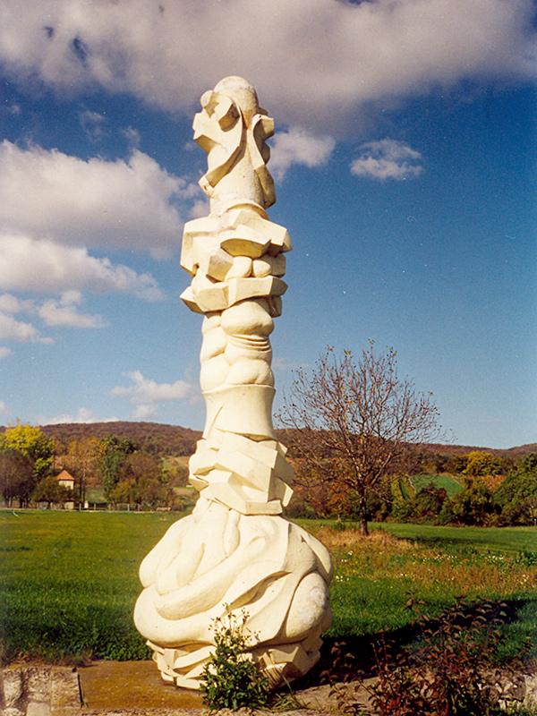 Säule der Bedrängnis im Freilichtmuseum Wander Bertoni