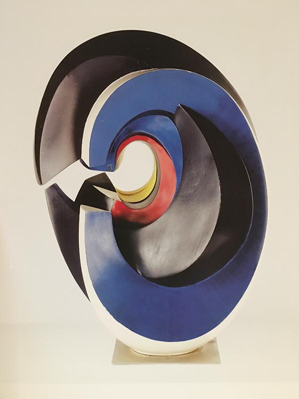 Wander Bertoni, Das C, 1954-55, Zyklus Das imaginäre Alphabet