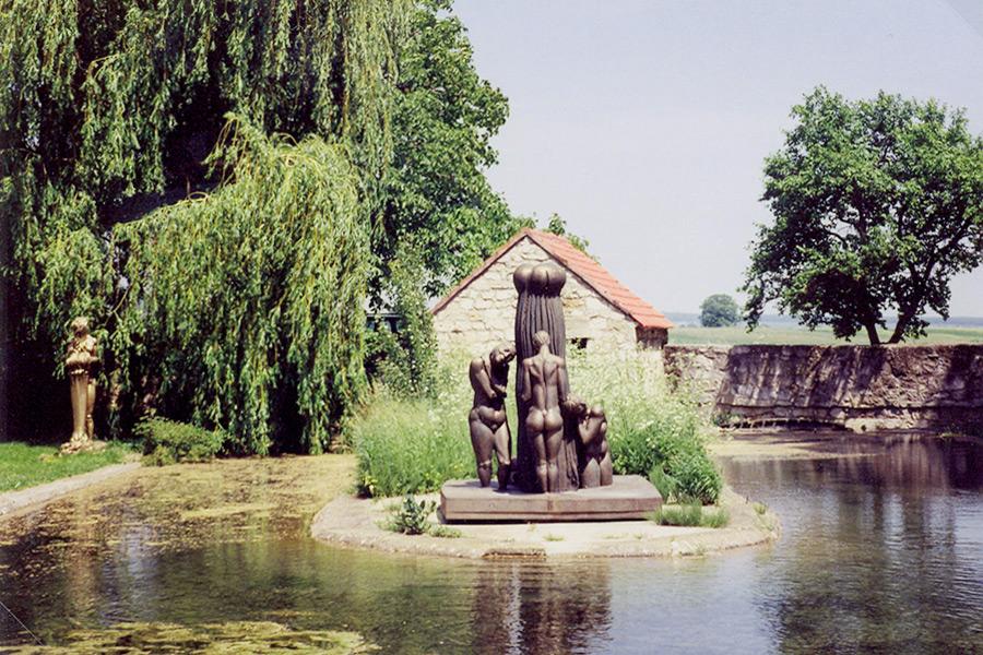 Kultischer Brunnen im Freilichtmuseum Wander Bertoni